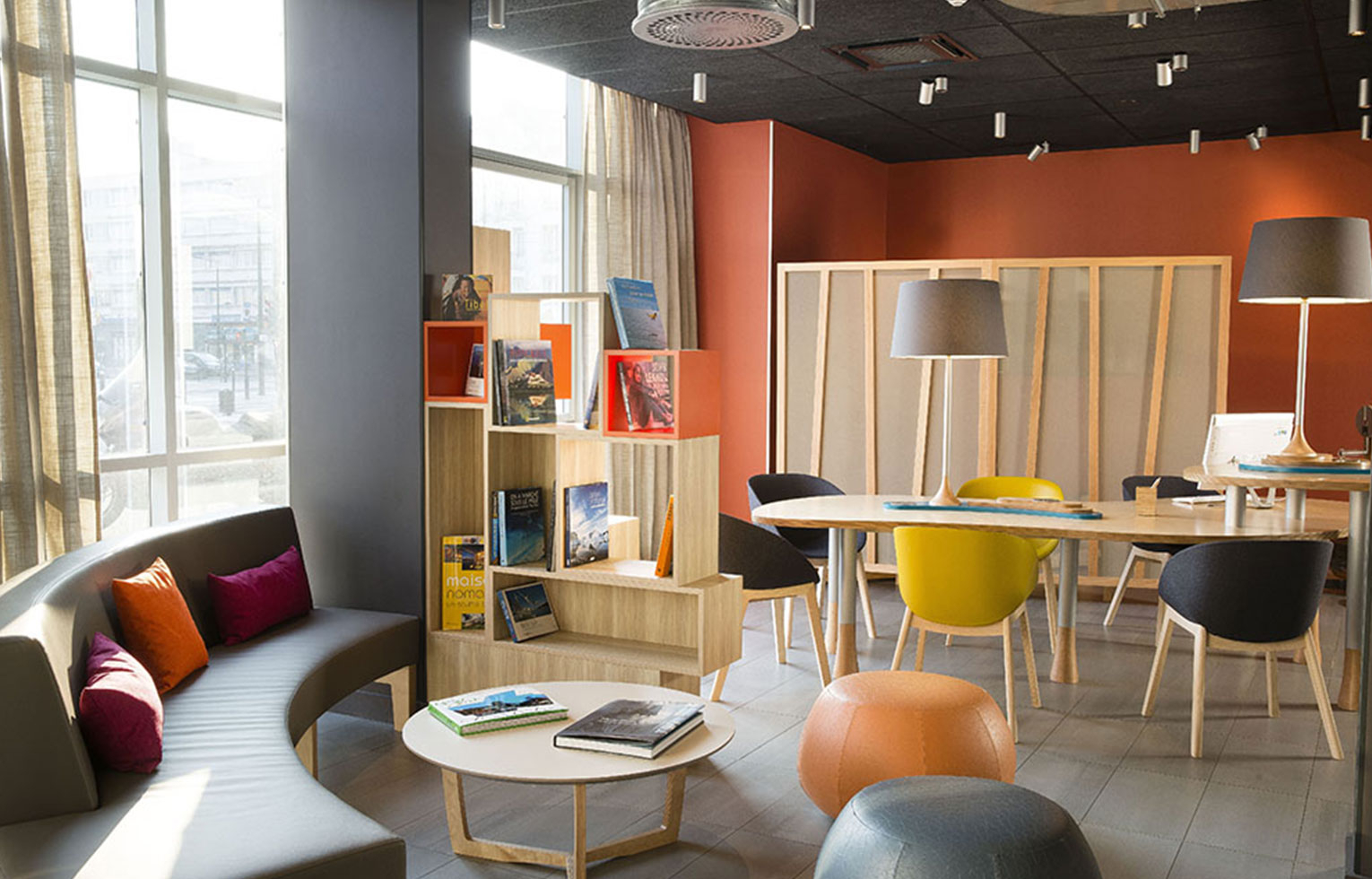 Espace travail NOMAD Hotel Le Havre