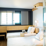 chambre twin nomad hotel roissy